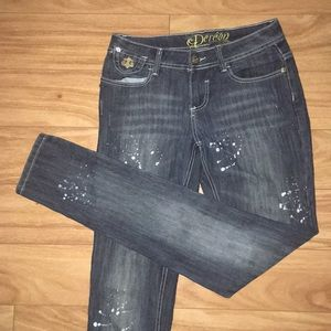 Dereon skinny jeans